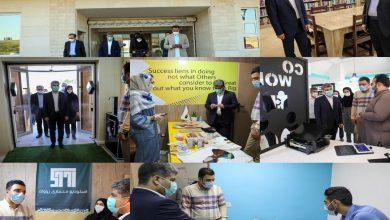 تصویر از گزارش تصویری از بازدید مدیرعامل سازمان منطقه آزاد چابهار و سرپرست دانشگاه از مرکز رشد و پارک علم و فناوری مکران