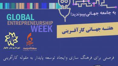 تصویر از هفته جهانی کار آفرینی