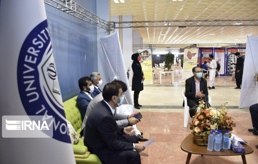 نخستین نمایشگاه دستاوردهای دانشبنیان و صنعتمحور چابهار برپا شد