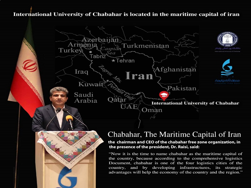 International University of Chabahar is Located in the Maritime Capital of Iran